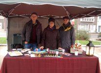 Evangeliseren op de kerstmarkt Evangelische Gemeente Kalmthout