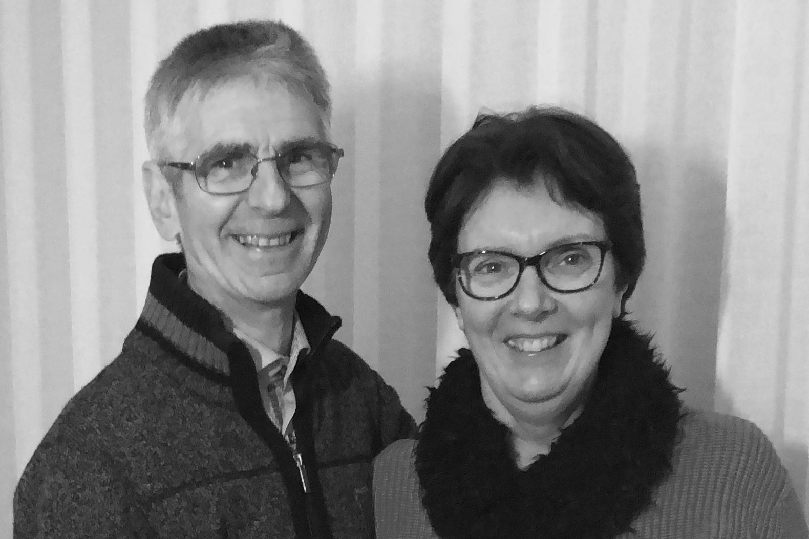 Verantwoordelijke oudste Daniël en Mattie Van de Velde Evangelische Gemeente Kalmthout